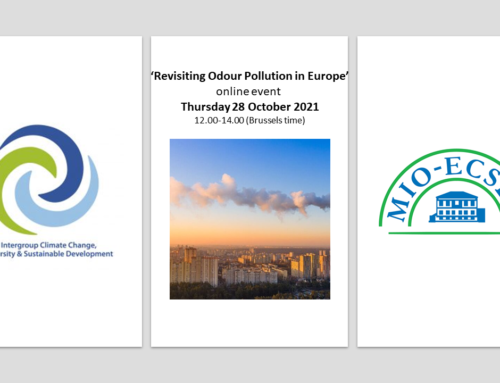 'Revisiting Odour Pollution in Europe' Event to attend on Thursday 28 October 2021, 12.00-14.00 (Brussels time)